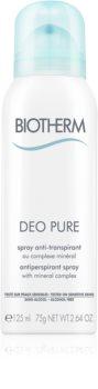Biotherm Deo Pure антиперспирант-спрей