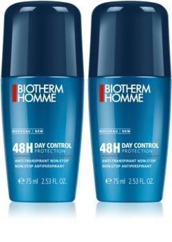 Biotherm Homme 48h Day Control Antitranspirant-Deoroller (DOPPELPACK) für Herren