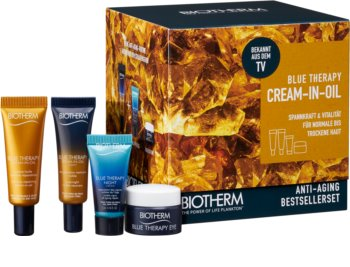 Biotherm Blue Therapy Cream-in-Oil Cosmetic Set (For Skin Rejuvenation) for Women