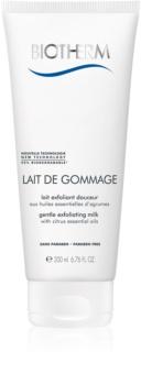 Biotherm Lait De Gommage gyengéd hámlasztó tej