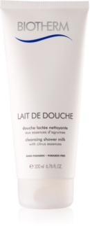 Biotherm Lait De Douche почистващо душ-мляко с цитрусови есенции