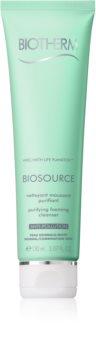 Biotherm Biosource почистваща пяна  за нормална към смесена кожа