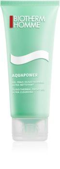 Biotherm Homme Aquapower Frisk rensegel til ansigt