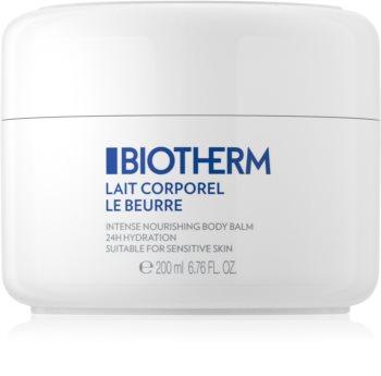 Biotherm Lait Corporel Le Beurre beurre corporel pour peaux sèches à très sèches