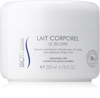 Biotherm Lait Corporel Le Beurre manteiga corporal  para pele seca a muito seca