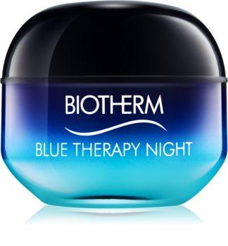 Biotherm Blue Therapy αντιρυτιδική κρέμα νύχτας για όλους τους τύπους επιδερμίδας