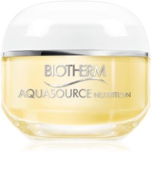 Biotherm Aquasource Nutrition crema idratante per pelli molto secche