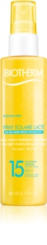 Biotherm Spray Solaire Lacté hidratantni sprej za sunčanje SPF 15