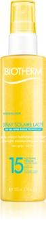 Biotherm Spray Solaire Lacté hydratačný sprej na opaľovanie SPF 15