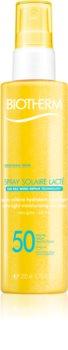 Biotherm Spray Solaire Lacté увлажняющий спрей для загара SPF 50