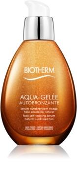 Biotherm Aqua-Gelée Autobronzante samoporjavitveni serum za obraz