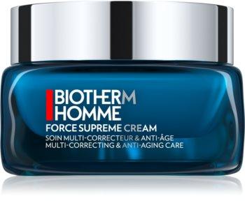 Biotherm Homme Force Supreme krem modelujący na dzień regenerująca i odnawiająca skórę