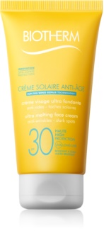 Biotherm Crème Solaire Anti-Âge крем проти зморшок для засмаги SPF 30