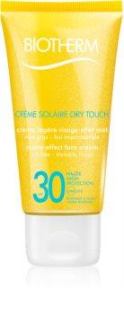 Biotherm Crème Solaire Dry Touch crema abbronzante opacizzante viso SPF 30