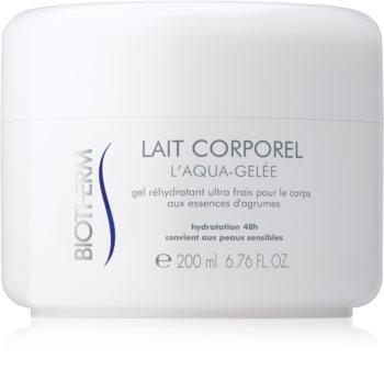Biotherm Lait Corporel L'Aqua-Gelée crema idratante rinfrescante per pelli sensibili