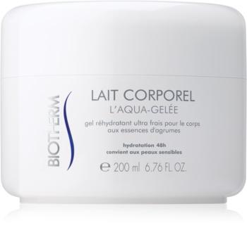 Biotherm Lait Corporel L'Aqua-Gelée hidratante com efeito refrescante para pele sensível