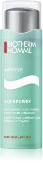 Biotherm Homme Aquapower hydratačná starostlivosť pre suchú pleť