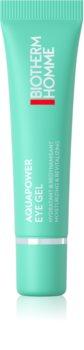 Biotherm Homme Aquapower Eye De-Puffer gel de ochi hidratant împotriva umflăturilor