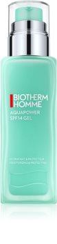 Biotherm Homme Aquapower hidratáló és védő gél UV faktorral