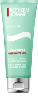 Biotherm Homme Aquapower gel rinfrescante viso effetto idratante