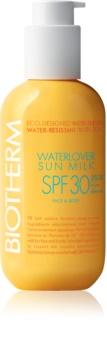 Biotherm Waterlover Sun Milk водостійке молочко для засмаги SPF 30