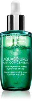 Biotherm Aquasource Aura Concentrate regeneráló és hidratáló szérum