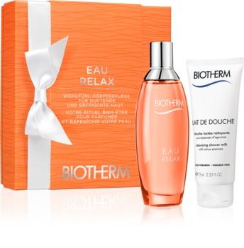 Biotherm Eau Relax Geschenkset I. für Damen