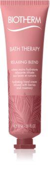 Biotherm Bath Therapy Relaxing Blend Creme hidratante para mãos