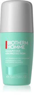 Biotherm Homme Aquapower Antiperspirant mit kühlender Wirkung