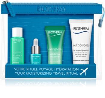 Biotherm Aquasource utazó szett kozmetikumokra  hölgyeknek