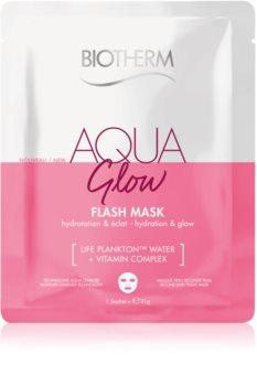 Biotherm Aqua Glow Super Concentrate maschera in tessuto