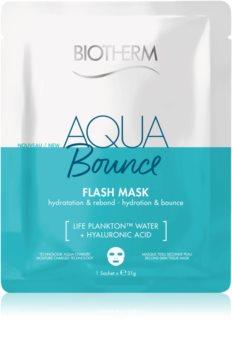 Biotherm Aqua Bounce Super Concentrate mascarilla hoja