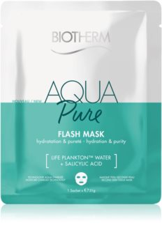 Biotherm Aqua Pure Super Concentrate Sheet Mask with Moisturizing Effect