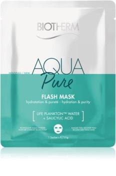 Biotherm Aqua Pure Super Concentrate Sheetmaske med fugtgivende virkning