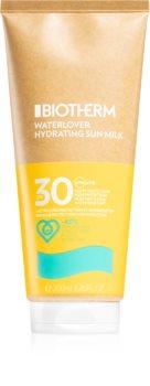 Biotherm Waterlover Sun Milk leite bronzeador SPF 30