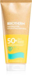 Biotherm Waterlover Sun Milk leite bronzeador SPF 50+