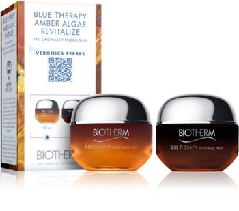 Biotherm Blue Therapy Amber Algae Revitalize Gift Set I. (For Regeneration And Skin Renewal)