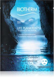 Biotherm Life Plankton Essence-in-Mask maschera idrogel intensiva