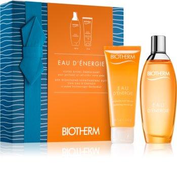 Biotherm Eau D'Énergie Presentförpackning III. för Kvinnor