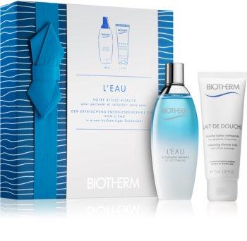 Biotherm L'Eau coffret cadeau II. pour femme