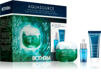 Biotherm Aquasource Cosmetic Set (for Normal and Combination Skin) for Women