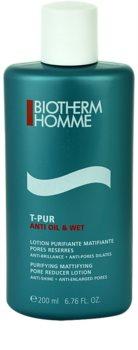 Biotherm Homme T-Pur Anti Oil & Wet tónico facial para pele oleosa e problemática