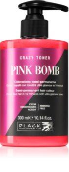 Black Professional Line Crazy Toner toner color