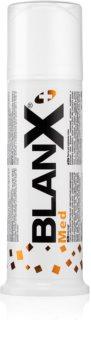 BlanX Med bieliaca pasta proti škvrnám na zubnej sklovine s mikro granulami