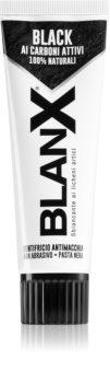 BlanX Black bleichende Zahnpasta mit Aktivkohle