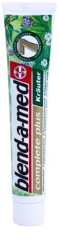 Blend-a-med Complete 7 Herbs pasta de ervas para proteção completa de dentes