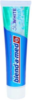 Blend-a-med 3D White Fresh Extreme Mint Kiss dentífrico branqueador para hálito fresco