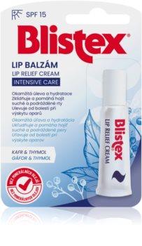 Blistex Lip Relief Cream balsam intens pentru buze SPF 15