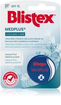 Blistex MedPlus охлаждающий бальзам для сухой и потрескавшейся кожи губ