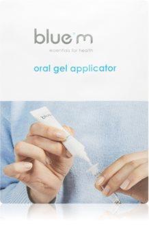 Blue M Essentials for Health Oral Gel Applicator aplicator pentru afte și răni superficiale în cavitatea bucală